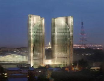 MIRAX Plaza Residential and Business Complex with Public Facilities  and Integrated Garage